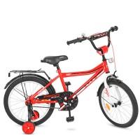 Велосипед детский двухколесный PROFI Y18105 Top Grade, 18 дюймов, красный