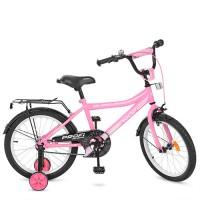 Велосипед детский двухколесный для девочек PROFI Y18106 Top Grade, 18 дюймов, розовый