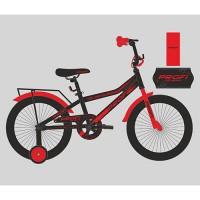 Велосипед детский двухколесный PROFI Y18107 Top Grade, 18 дюймов, красно-черный