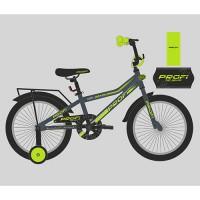 Велосипед детский двухколесный PROFI Y18108 Top Grade, 18 дюймов, серый