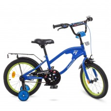 Велосипед детский двухколесный PROFI Y18182 TRAVELER, 18 дюймов, синий
