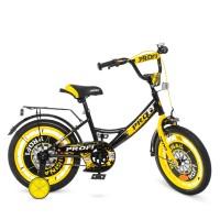 Велосипед детский двухколесный PROFI Y1843 Original boy, 18 дюймов, желто-черный