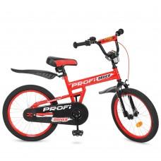 Велосипед детский двухколесный PROFI L20112 Driver, 20 дюймов, красный