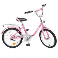 Велосипед детский двухколесный PROFI L2081 Flower, 20 дюймов, розовый
