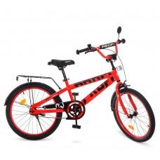 Велосипед детский двухколесный PROFI T20171 Flash, 20 дюймов, красный