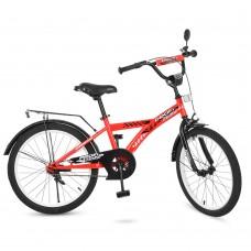 Велосипед детский двухколесный PROFI T2031 Racer, 20 дюймов, красный