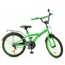 Велосипед детский двухколесный PROFI T2036 Racer, 20 дюймов, зеленый
