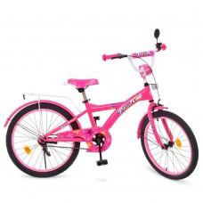 Велосипед детский двухколесный для девочек PROFI T2062 Original girl, 20 дюймов, малиновый