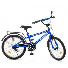 Велосипед детский двухколесный PROFI T2073 Forward, 20 дюймов, синий