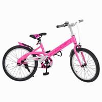 Велосипед детский для девочек двухколесный PROFI W20115-3 Original, 20 дюймов, розовый