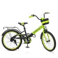 Велосипед детский двухколесный PROFI W20115-6 Original, 20 дюймов, зеленый