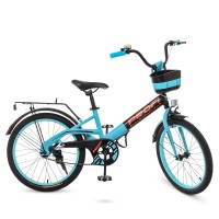 Велосипед детский двухколесный PROFI W20115-8 Original, 20 дюймов, бирюзовый