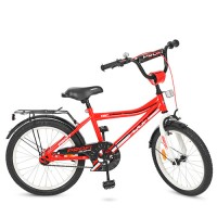 Велосипед детский двухколесный PROFI Y20105 Top Grade, 20 дюймов, красный