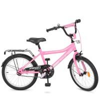 Велосипед детский двухколесный для девочек PROFI Y20106 Top Grade, 20 дюймов, розовый
