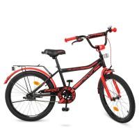 Велосипед детский двухколесный PROFI Y20107 Top Grade, 20 дюймов, черный
