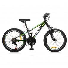 """Велосипед горный MTB Profi A315 20 дюймов, рама 12"""", черный (G20A315-L-1B)"""