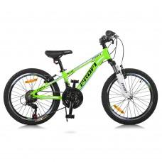 """Велосипед горный MTB Profi A315 20 дюймов, рама 10"""", зеленый (G20A315-L-2B)"""