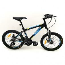 """Велосипед горный MTB Profi OPTIMAL 20 дюймов, рама 12,5"""", черный (G20OPTIMAL A20.1)"""