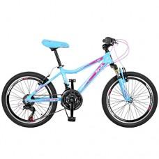 """Велосипед горный MTB Profi CARE 20 дюймов,  рама 12"""", голубой (GW20CARE A20.2)"""