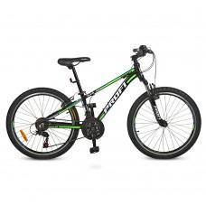 """Велосипед горный MTB Profi A315 24 дюйма, рама 13,5"""", черный (G24A315-L-1B)"""