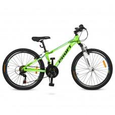 """Велосипед горный MTB Profi A315 24 дюйма, рама 13,5"""", салатовый (G24A315-L-2B)"""