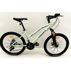 "Велосипед горный MTB Profi AIRY 24 дюйма, рама 15"", белый  (G24AIRY A24.1)"