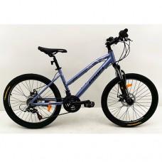 "Велосипед горный MTB Profi AIRY 24 дюйма, рама 15"", металлик (G24AIRY A24.2)"