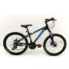 """Велосипед горный MTB Profi OPTIMAL 24 дюйма, рама 13"""", черный (G24OPTIMAL A24.1)"""