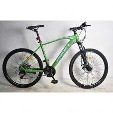 """Велосипед горный MTB Profi VELOCITY 24 дюйма, рама 15"""", зеленый (G24VELOCITY A24.1)"""
