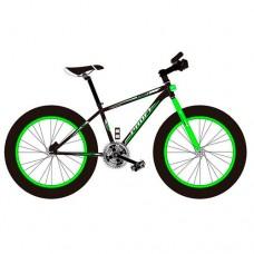 """Велосипед фэтбайк Profi POWER 26 дюймов, рама 17"""", зелено-черный (EB26POWER 1.0 S26.2)"""
