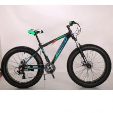 """Велосипед фэтбайк Profi POWER 26 дюймов, рама 17"""", черный (EB26POWER 1.0 S26.5)"""