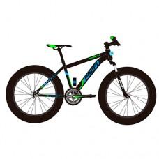 """Велосипед фэтбайк Profi HIGHPOWER 26 дюймов, рама 17"""", черный (EB26HIGHPOWER 2.0 A26.2)"""