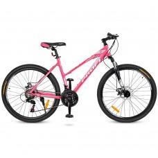 """Велосипед горный MTB Profi ELEGANCE 26 дюймов, рама 18"""", малиновый (G26ELEGANCE A26.1)"""
