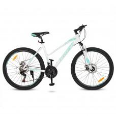 """Велосипед горный MTB Profi ELEGANCE 26 дюймов, рама 18"""", белый (G26ELEGANCE A26.3)"""