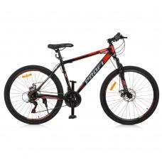 """Велосипед горный MTB Profi ENERGY 26 дюймов, рама 18"""", красно-черный (G26ENERGY A26.1)"""