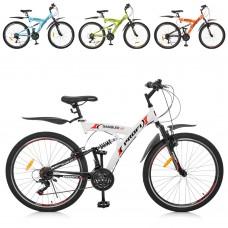 """Велосипед горный (MTB) Profi GAMBLER 26 дюймов, рама 19,5"""", микс цветов (G26GAMBLER S26MIX)"""