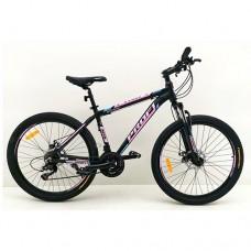 """Велосипед горный MTB Profi OPTIMAL 26 дюймов, рама 16,5"""", розово-черный (G26OPTIMAL A26.2)"""