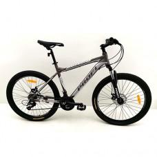 """Велосипед горный MTB Profi PHANTOM 26 дюймов, рама 19"""", серый (G26PHANTOM A26.1)"""
