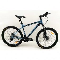 """Велосипед горный MTB Profi PHANTOM 26 дюймов, рама 19"""", бирюзовый (G26PHANTOM A26.2)"""