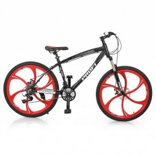 """Велосипед горный MTB Profi BLADE 26 дюймов, рама 17"""", черный (BLADE 26.1B)"""