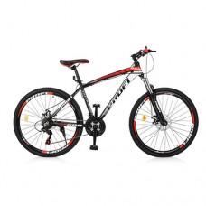 """Велосипед горный MTB Profi FORMAT 26 дюймов, рама 17"""", черно-красный (EB26FORMAT A26.1)"""