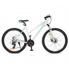 """Велосипед горный MTB Profi ELEGANCE 27,5 дюймов, рама 19"""", белый (G275ELEGANCE A275.3)"""