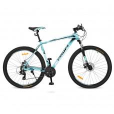 """Велосипед горный MTB Profi PRECISE 27,5 дюймов, рама 19"""", мятный (G275PRECISE A275.1)"""