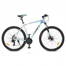"""Велосипед горный MTB Profi PRECISE 27,5 дюймов, рама 19"""", бело-голубой (G275PRECISE A275.2)"""