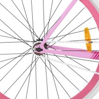 """Велосипед трековый Profi FIX 28 дюймов, рама 19"""", розовый (FIX26C701-2)"""