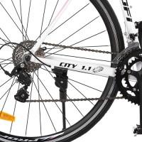 Велосипед шоссейный Profi CITY 28 дюймов, рама 53 см, белый (G53CITY A700C-2)