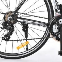 Велосипед шоссейный Profi CITY 28 дюймов, рама 53 см, бело-черный (G53CITY A700C 3.2)