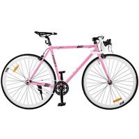 Велосипед городской Profi JOLLY 28 дюймов, рама 53 см, розовый (G53JOLLY S700C-4H)