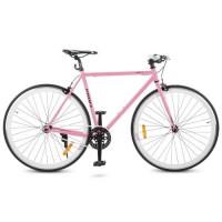 Велосипед городской Profi JOLLY 28 дюймов, рама 53 см, розовый (G53JOLLY S700C-4)