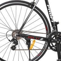Велосипед шоссейный Profi CITY 28 дюймов, рама 56 см, черный (G56CITY A700C-1)